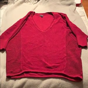 💕 Express sweater Red dolman sleeve